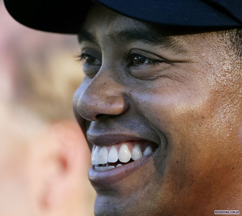 tiger woods let your clubs speak for you