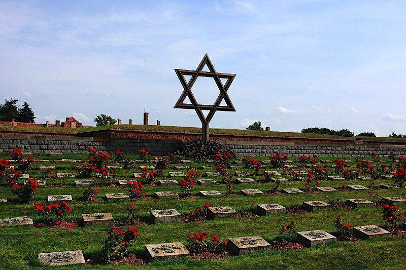 the history of terezin concentration camp in the czech republic