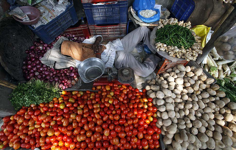 food inflation in india