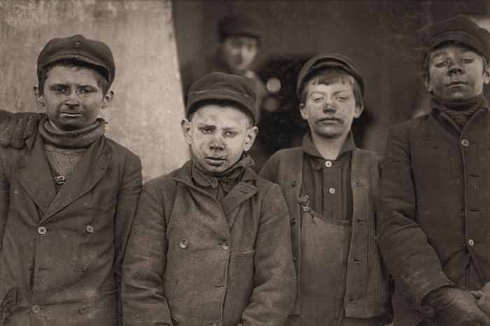 a look at the prevalence of child slavery in america in the 1900s