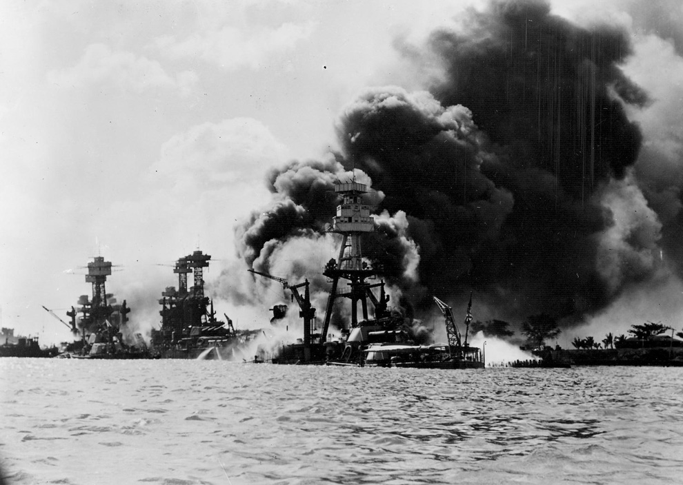 a history of the uss arizona and the pearl harbor attack in the pacific