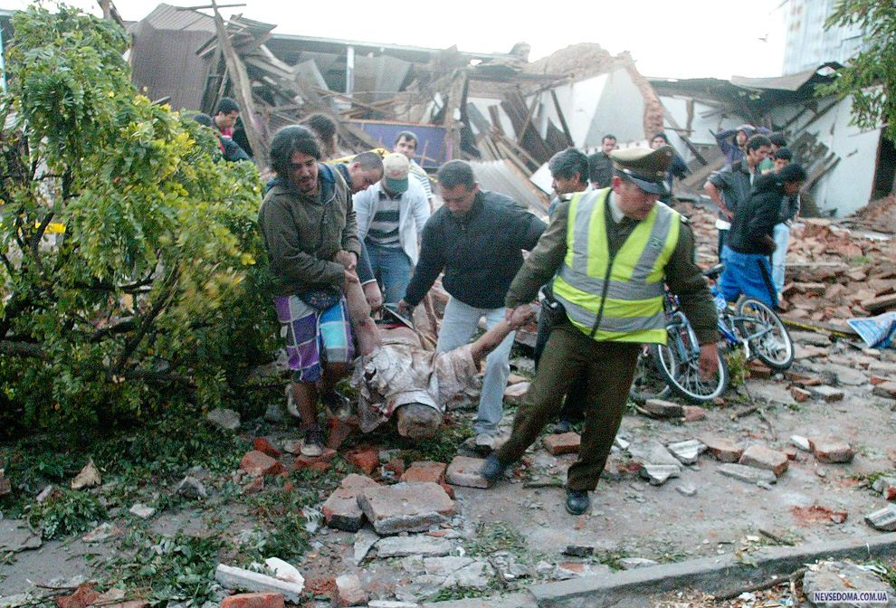 chile earthquake The 1960 valdivia earthquake (spanish: terremoto de valdivia) or great chilean earthquake (gran terremoto de chile) of 22 may is the most powerful earthquake ever recorded various studies have placed it at 94–96 on the moment magnitude scale.