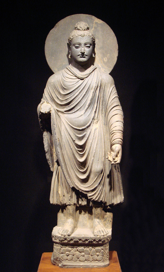 hellenistic influence on buddhist sculpture