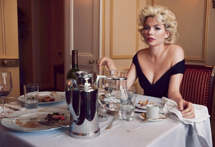 Michelle Williams в образе Мерлин Монро (10 фотографий), photo:2