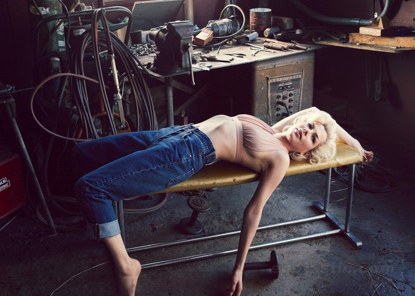 Michelle Williams в образе Мерлин Монро (10 фотографий), photo:7