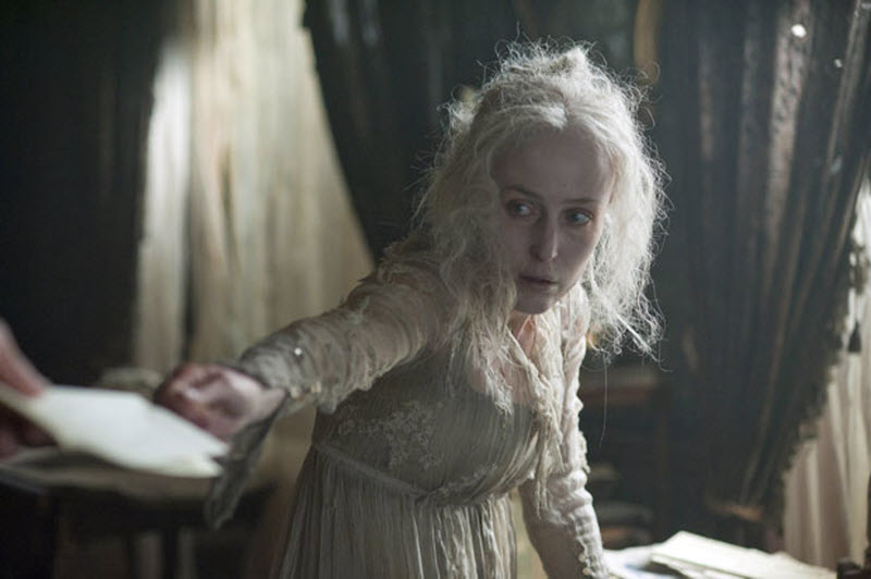 miss havisham as a mysterious and Chapter viii charles dickens i was very glad when ten o'clock came and we started for miss havisham's  to stand in the dark in a mysterious passage of an.
