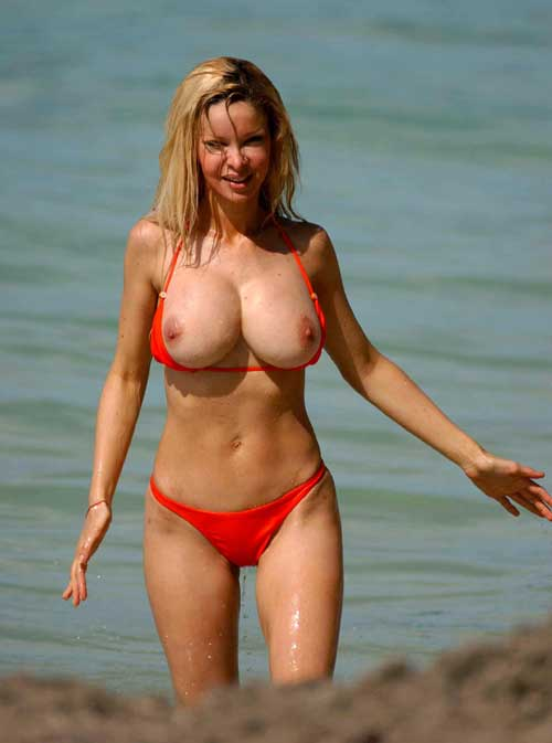 douvall topless beach Alicia